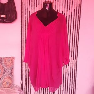 Sheer DIANE von Furstenberg Dress